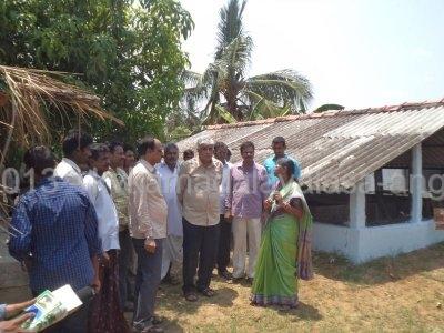 Visit of Dr. A. Padma Raju garu Vice Chancellor ANGRAU.JPG